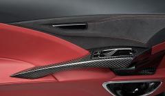 Обшивка дверей автомобиля алькантарой, кожей и карбоном