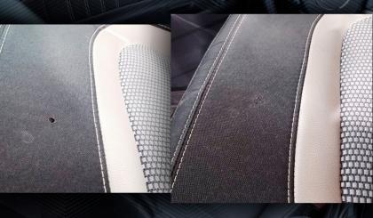 прожег сиденья автомобиля цена ремонта