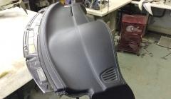 ремонт передней панели торпедо сааб