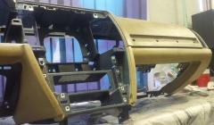 ремонт передней панели торпедо тесла