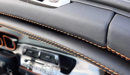 BMW Z4 перешив салона экокожа наппа - новая кожа